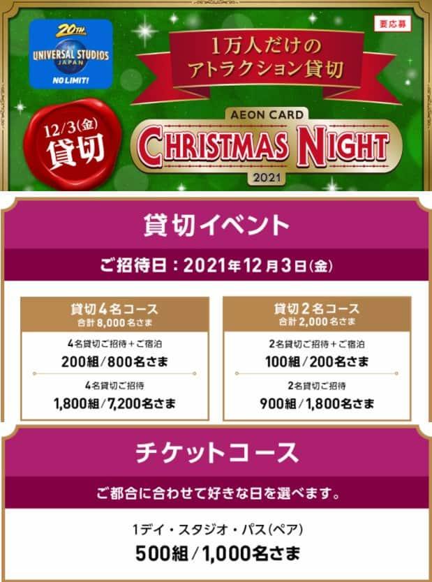 イオンキャンペーン イオンカード ユニバーサルスタジオジャパン