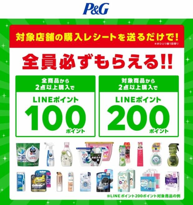 クローズド懸賞 キャンペーン P&G